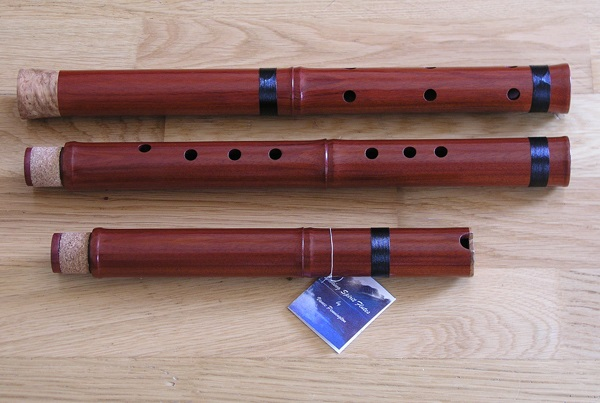 Rosewood Xiao Flute 3 piece